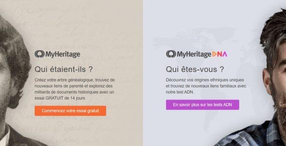 MyHeritage, le kit pour connaître ses origines